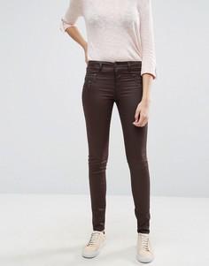 Вощеные джинсы с покрытием Only Olivia - Черный