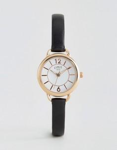 Часы с черным кожаным ремешком Limit 6214.37 (61 - Черный