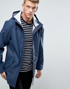 Темно-синяя водонепроницаемая куртка ASOS - Темно-синий