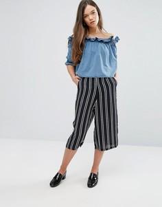 Юбка-брюки в полоску Glamorous - Мульти