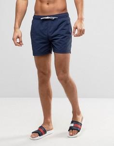 Темно-синие шорты для плавания Tommy Hilfiger - Темно-синий