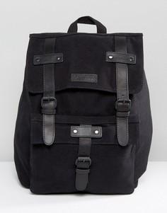 Barneys Leather Backpack in Black - Черный Barneys Originals