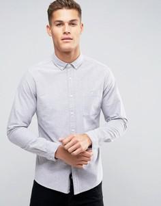 Серая оксфордская рубашка классического кроя ASOS - Серый