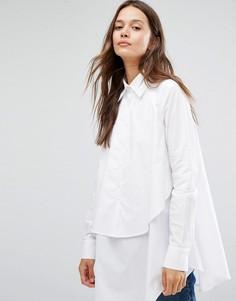 Двухслойная рубашка Gestuz - Белый