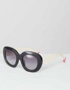 Солнцезащитные очки с градиентными линзами House of Holland Leggy - Черный