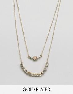 Ярусное ожерелье Johnny Loves Rosie - Золотой