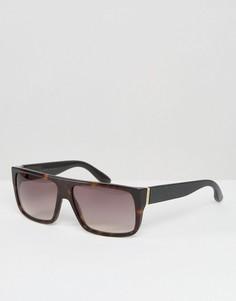 Солнцезащитные очки в квадратной оправе Marc By Marc Jacobs - Коричневый