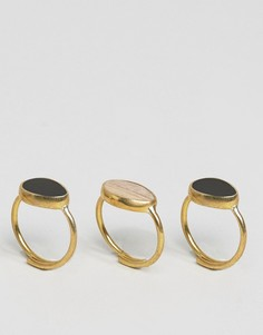 Составные кольца Made Mirage - Золотой
