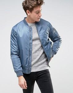 Куртка-пилот Brave Soul Ma1 - Синий