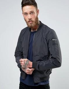 Легкая куртка-пилот Replay - Черный