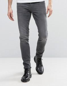 Синие джинсы скинни с заниженной талией Blend Cirrus - Синий