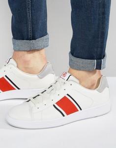 Кроссовки с полосками Paul Smith - Белый