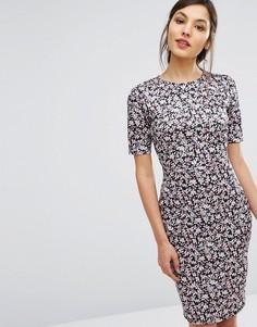 Платье-футляр с цветочным принтом Poppy Lux - Мульти