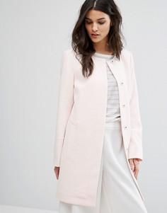 Пальто Selected Femme Vento - Розовый