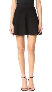 Короткая юбка-солнце Cushnie Et Ochs