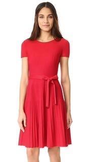 Платье с короткими рукавами Salvatore Ferragamo