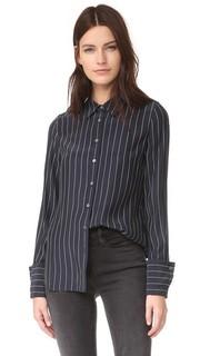 Блуза с двойными манжетами Frame