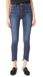 Джинсы-скинни до щиколотки Charlie с высокой посадкой Joes Jeans