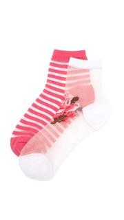 Набор прозрачных носков Rosa Kate Spade New York