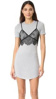 Кружевное платье с накладным элементом в виде майки Re:Named