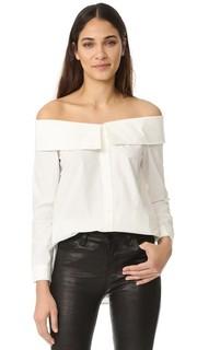 Рубашка с воротником и открытыми плечами Re:Named