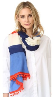 Длинный полосатый шарф Tory Burch