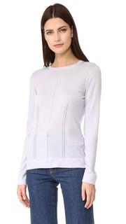 Ажурный свитер с округлым вырезом Salvatore Ferragamo
