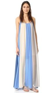 Макси-платье El Ray с цветными блоками Line & Dot