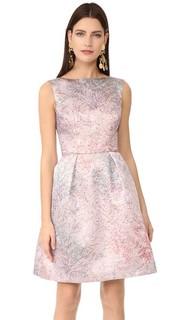 Платье без рукавов Monique Lhuillier
