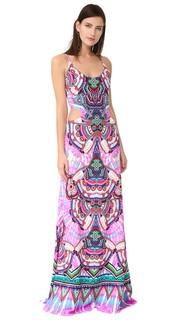 Макси-платье без рукавов Roberto Cavalli