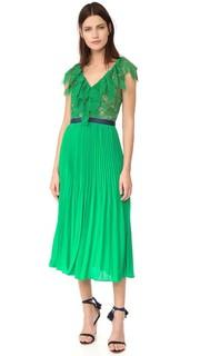 Плиссированное платье Dress Code Three Floor