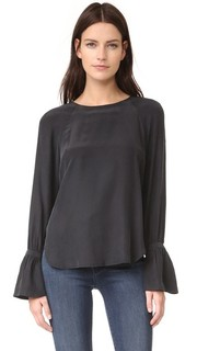 Блуза с объемными манжетами Frame