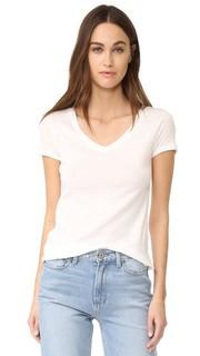 Легкая футболка 1X1 с V-образным вырезом Petit Bateau