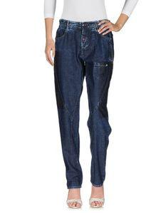 Джинсовые брюки High
