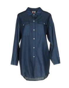 Джинсовая рубашка Follow US