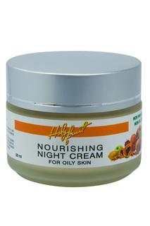 Ночной крем для жирной кожи HOLY FRUIT