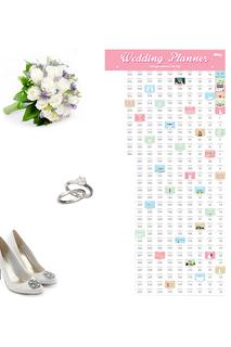 Календарь-планинг для свадьбы DOIY
