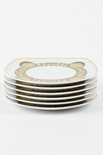 Набор тарелок 17 см, 6 шт. Bohemia
