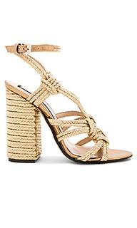 Woven strappy heel - No. 21