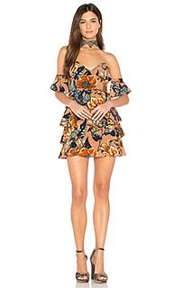 Платье без бретель flamenco - For Love & Lemons