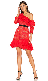 Chianti off shoulder ruffle dress - For Love & Lemons