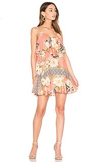 Мини платье с переплетом sweet - FARM