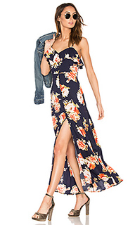 Button front floral maxi dress - Band of Gypsies