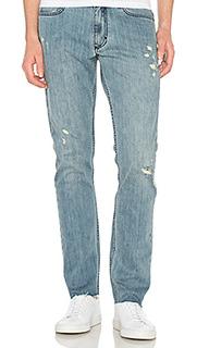 Slim logo 5 pkt frayed jeans - Calvin Klein