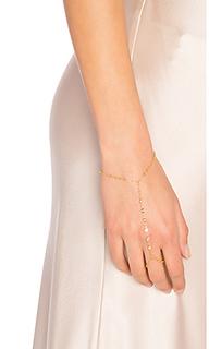 7 cz finger bracelet - Jacquie Aiche