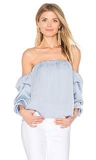 Caught sleeve bustier - Bardot