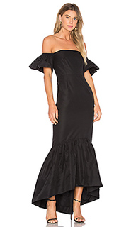 Ruffle off the shoulder maxi dress - JILL JILL STUART