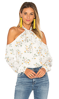 X revolve the tie neck off shoulder blouse - LAcademie