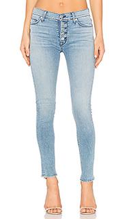 Облегающие джинсы с высокой посадкой ciara - Hudson Jeans