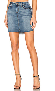 Юбка-карандаш с асимметричным подолом - Joes Jeans